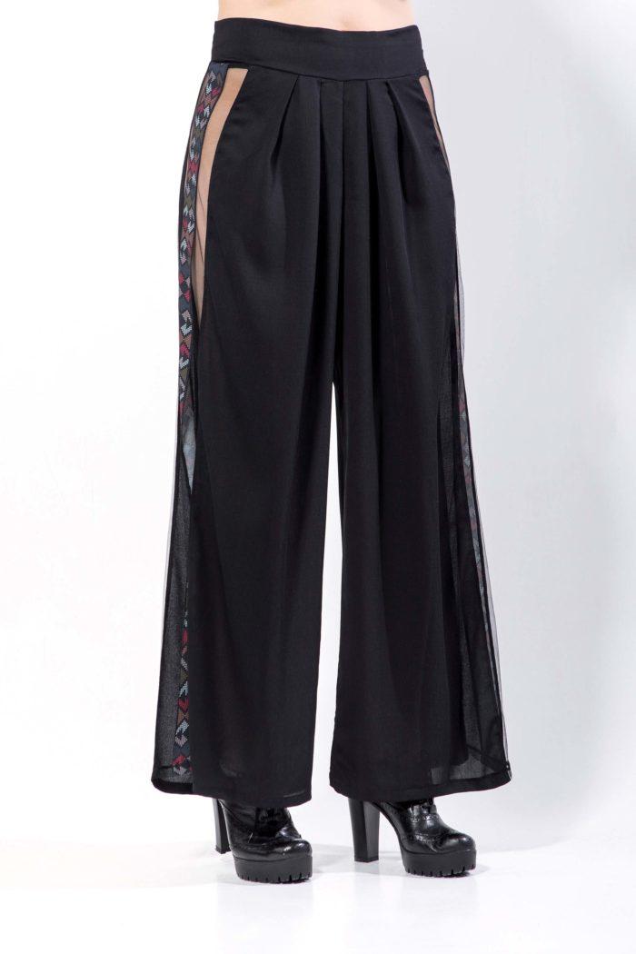 Παντελόνα με πιέτες