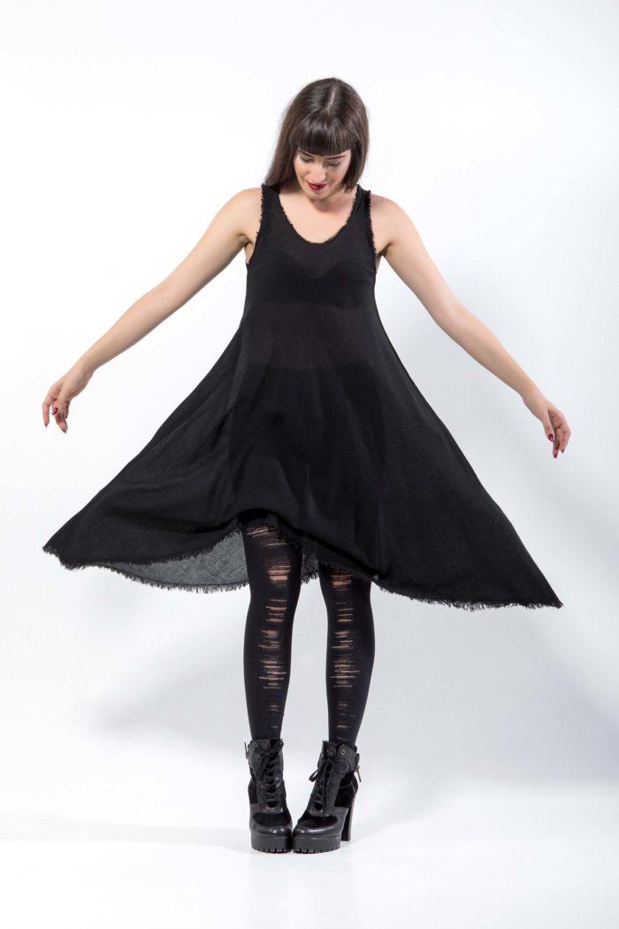 Φόρεμα  από  γάζα