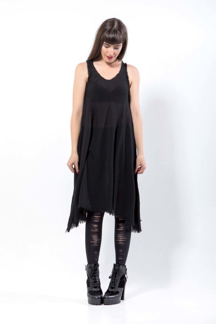 Φόρεμα από γάζα, 100% βαμβάκι Ελληνικής κατασκευής